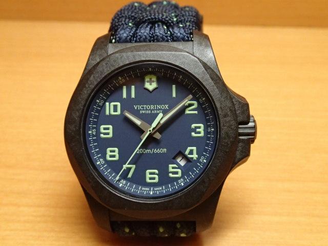 VICTORINOX ビクトリノックス 腕時計 I.N.O.X. イノックス カーボン I.N.O.X. Carbon 43mm 241860 ネイビーブルー文字盤