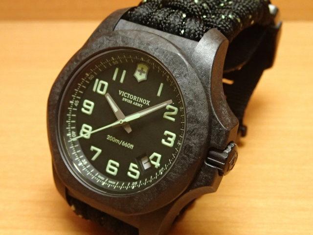 VICTORINOX ビクトリノックス 腕時計 I.N.O.X. イノックス カーボン I.N.O.X. Carbon 43mm 241859 ブラック文字盤