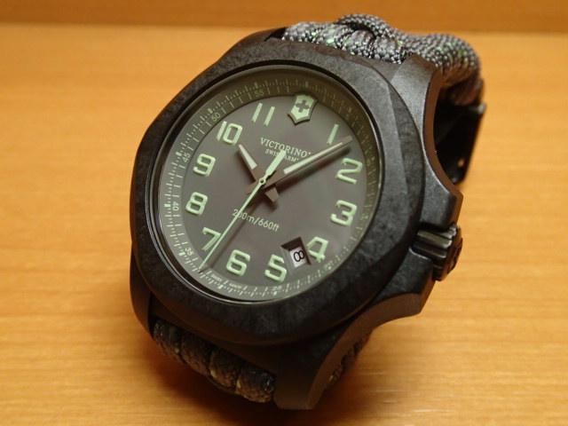 VICTORINOX ビクトリノックス 腕時計 I.N.O.X. イノックス カーボン I.N.O.X. Carbon 43mm 241861 グレー文字盤