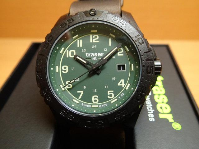 トレーサー腕時計 traser Outdoor Pioneer Evolution Petrole GN ( アウトドア パイオニア エボリューション ) メンズ 【正規輸入品】優美堂の【トレーサー 腕時計】は、国内2年保証のついた日本正規品です。