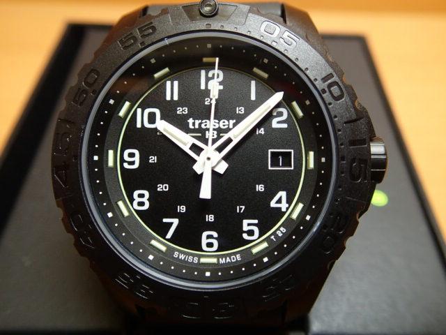 トレーサー腕時計 traser Outdoor Pioneer EVO BK ( アウトドア パイオニア エボ ブラック) メンズ 【正規輸入品】優美堂の【トレーサー 腕時計】は、国内2年保証のついた日本正規品です。