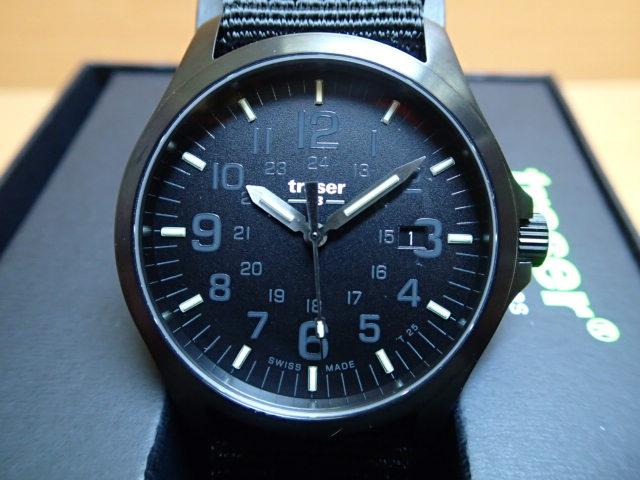 トレーサー腕時計 traser Officer Pro BLACK ( オフィサープロ ブラック ) メンズ 正規輸入品優美堂の【トレーサー 腕時計】は、国内2年保証のついた日本正規品です。