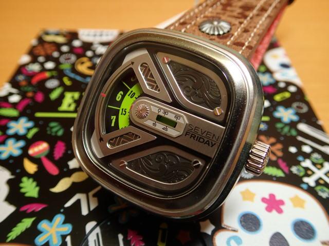 SEVENFRIDAY セブンフライデー 世界限定450本 日本には10本のみ入荷 正規輸入商品 腕時計 Ref.M1B/02 - El Charroセブンフライデーはメーカー保証2年付の正規代理店商品になります。