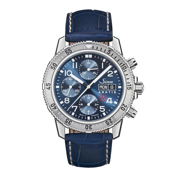 ジン 腕時計 Sinn 206.ARKTIS.II 型押しカウレザーストラップ仕様 分割払いもOKです
