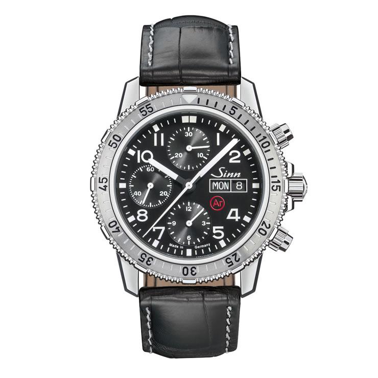 ジン 腕時計 Sinn 206.ST.AR 型押しカウレザーストラップ仕様 分割払いもOKです