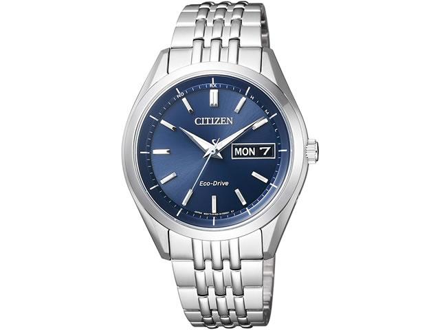 シチズン CITIZEN 腕時計 CITIZEN COLLECTION シチズンコレクション エコ・ドライブ電波時計 AT6060-51L ネイビーブルー文字盤 メンズサイズ ※時計業界初となるエコマークアワード2014「金賞」受賞