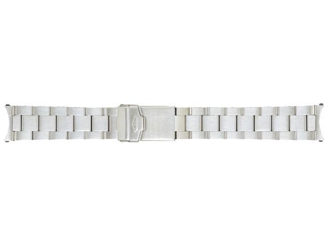 FORTIS フォルティス フリーガークラッシック / コスモノート用 ステンレススチールブレスレット SSヘアラインマット 腕時計 ベルト バンド 20mm