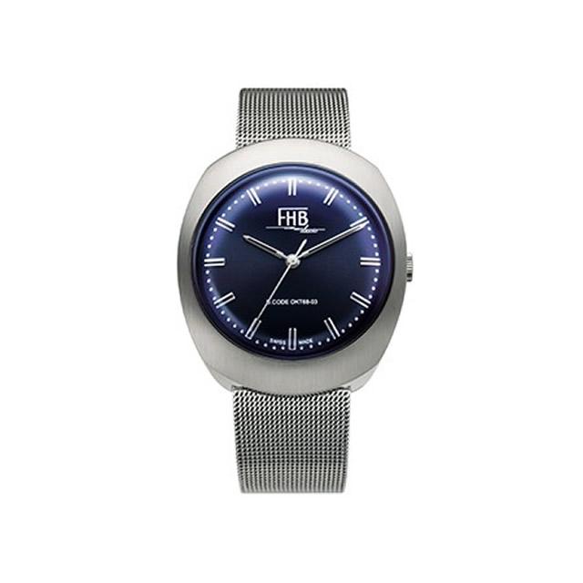 FHB エフエイチビー 腕時計 ノア シリーズ NOAH Series F930NY-MT ネイビー文字盤 【正規輸入品】F930は1968年のデザインを復刻 アンティーク感を漂わせるクラシカルなデザインの中にもどこか新しさを感じさせるシリーズです
