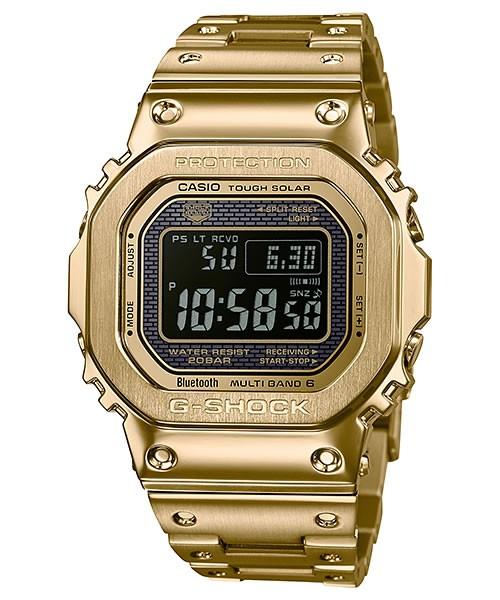 カシオ CASIO 腕時計 G-SHOCK ジーショック フルメタル ORIGIN 世界6局対応 電波 タフソーラー デジタルウォッチ MULTIBAND6 GMW-B5000GD-9JF メンズ