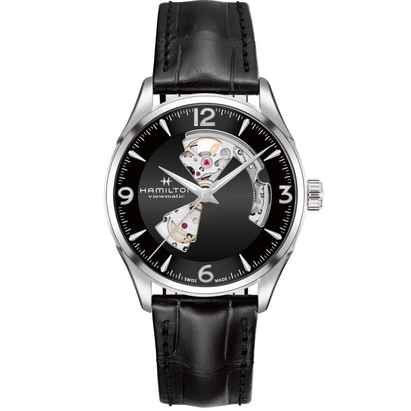 ハミルトン ジャズマスターオープンハート HAMILTON Jazzmaster Open Heart 機械式自動巻き H32705731 メンズ 腕時計【送料無料】 【正規輸入品】