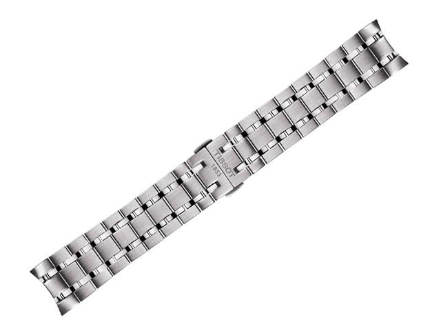 ティソ ベルト 時計 TISSOT 純正 ブレスレットバンド CHEMIN DES TOURELLES (シャミン・ドゥ・トゥレル クロノグラフモデル) メンズ専用 21mm T605036523 正規輸入品