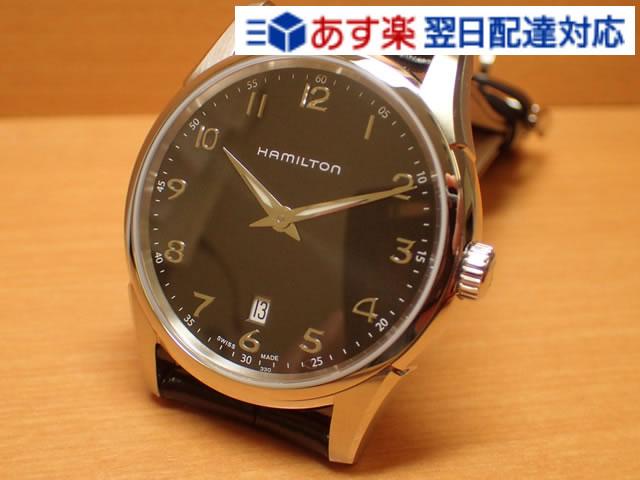 ハミルトン ジャズマスター 時計 シンライン 42mm ブラックダイアル HAMILTON Jazzmaster Thinline 42mm H38511733 メンズ 送料無料 正規輸入品