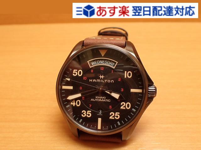 ハミルトン 時計 HAMILTON 腕時計 Khaki Pilot Day Date Auto カーキ パイロット デイデイト オート H64605531 メンズ 送料無料 正規輸入品 分割払い可