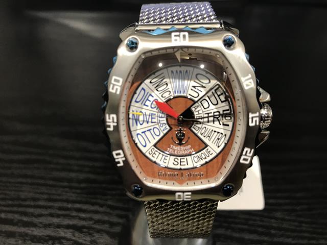リトモラティーノ 腕時計 クワトロオート QUATTRO AUTO 機械式自動巻き 44mm QA-77ML 国内正規品