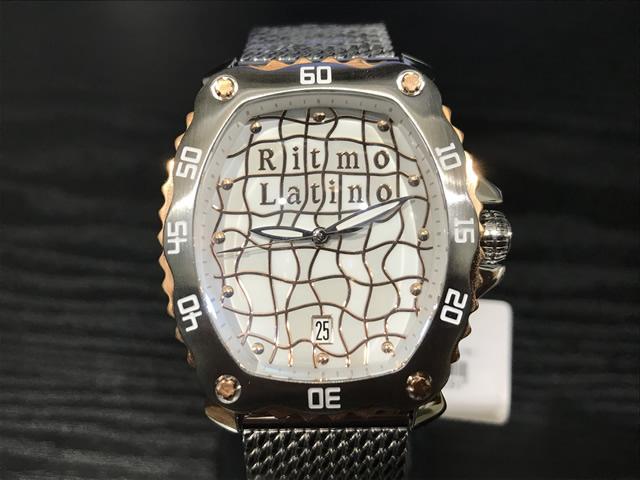 リトモラティーノ 腕時計 クワトロオート QUATTRO AUTO 機械式自動巻き 44mm QA-99ML 【国内正規品】