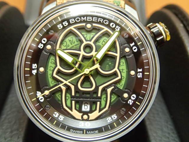 BOMBERG ボンバーグ 自動巻き 腕時計 BB-01 オートマティック ミリタリー スカル CT43APBA.23-4.11 正規輸入商品