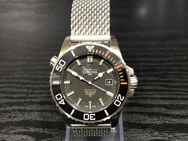 ダボサ 腕時計 DAVOSA Argonautic lumis Colour アルゴノウティック ルミスカラー 161.580.60 メンズ 42mm 正規輸入品スーパールミノバと自己発光ガスチューブを併用することで格段の暗所視認性を実現し300メーター防水性能を持つハイスペックダイバーズ