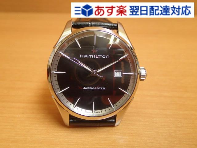 ハミルトン ジャズマスター 時計 腕時計 ジェント クオーツ レザーバンド HAMILTON H32451731 送料無料