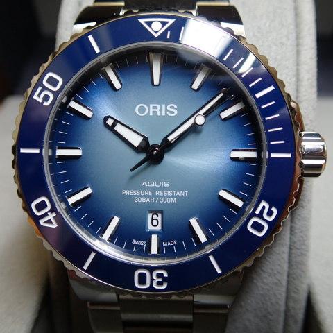 オリス 時計 レイクバイカル リミテッドエディション 世界限定1999本 腕時計 Oris Aquis 0173377304175-Set 高性能ダイバーズ 送料無料 正規輸入品 日本入荷少量 2月下旬 入荷次第発送 あす楽