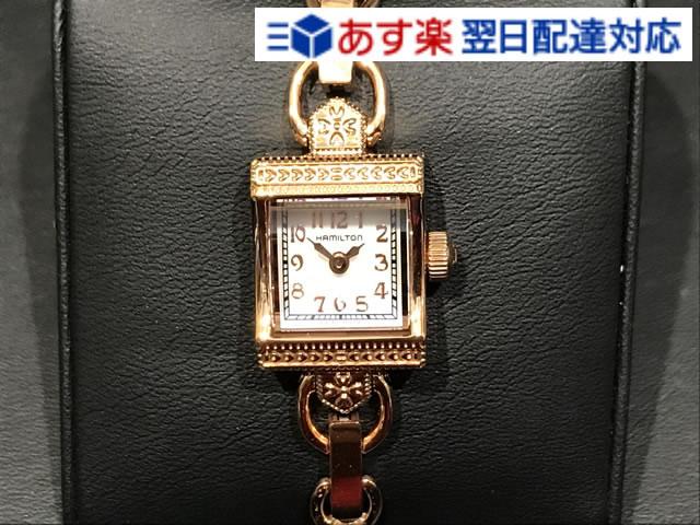ハミルトン 時計 腕時計 HAMILTON レディ ハミルトン 時計 ヴィンテージ クォーツ ピンクゴールド H31241113 Lady Hamilton Vintage Quartz 送料無料