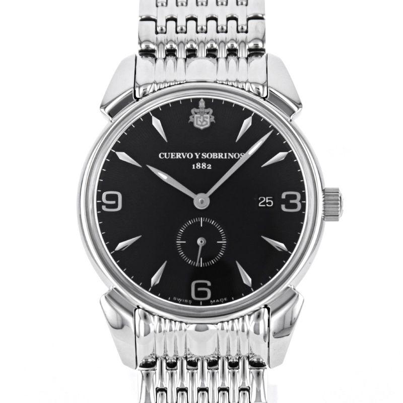 クエルボイソブリノス 腕時計 トルピード ヒストリアドール ペキニョス セゴンドス ヴィンテージ 正規商品 Ref.3191B-1VNS クエルボ・イ・ソブリノス 無金利分割も可能です。