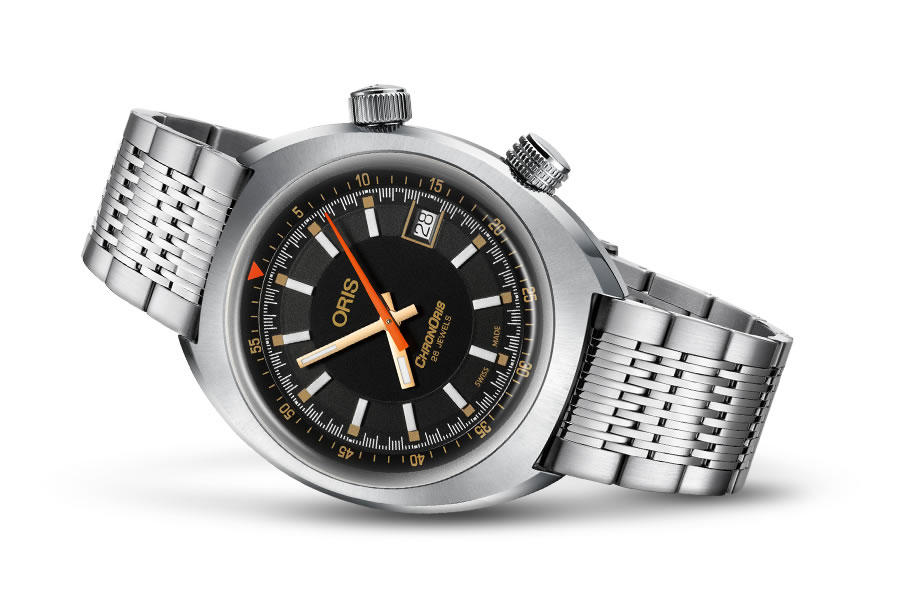オリス 時計 モベンバー エディション クロノリス 腕時計 Oris Chronoris 0173377374034-SetMB 送料無料 正規輸入品 ステンレス スティール メタルブレスレット