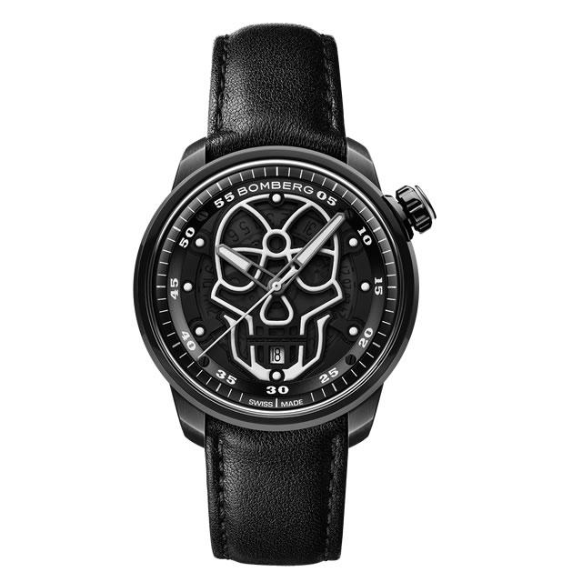 BOMBERG ボンバーグ 自動巻き 腕時計 BB-01 オートマティック スカル CT43APBA.23-3.11 正規輸入商品
