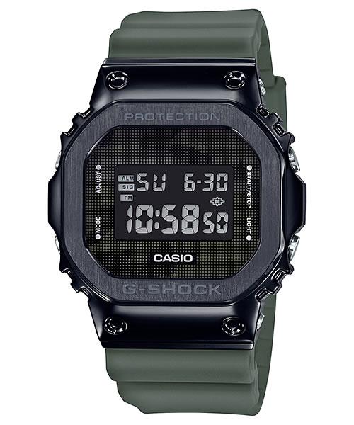 カシオ CASIO G-SHOCK ジーショック メタルコンビ 腕時計 デジタルウォッチ GM-5600B-3JF メンズ 大人のG-SHOCKはメタルコンビのコレでしょ!