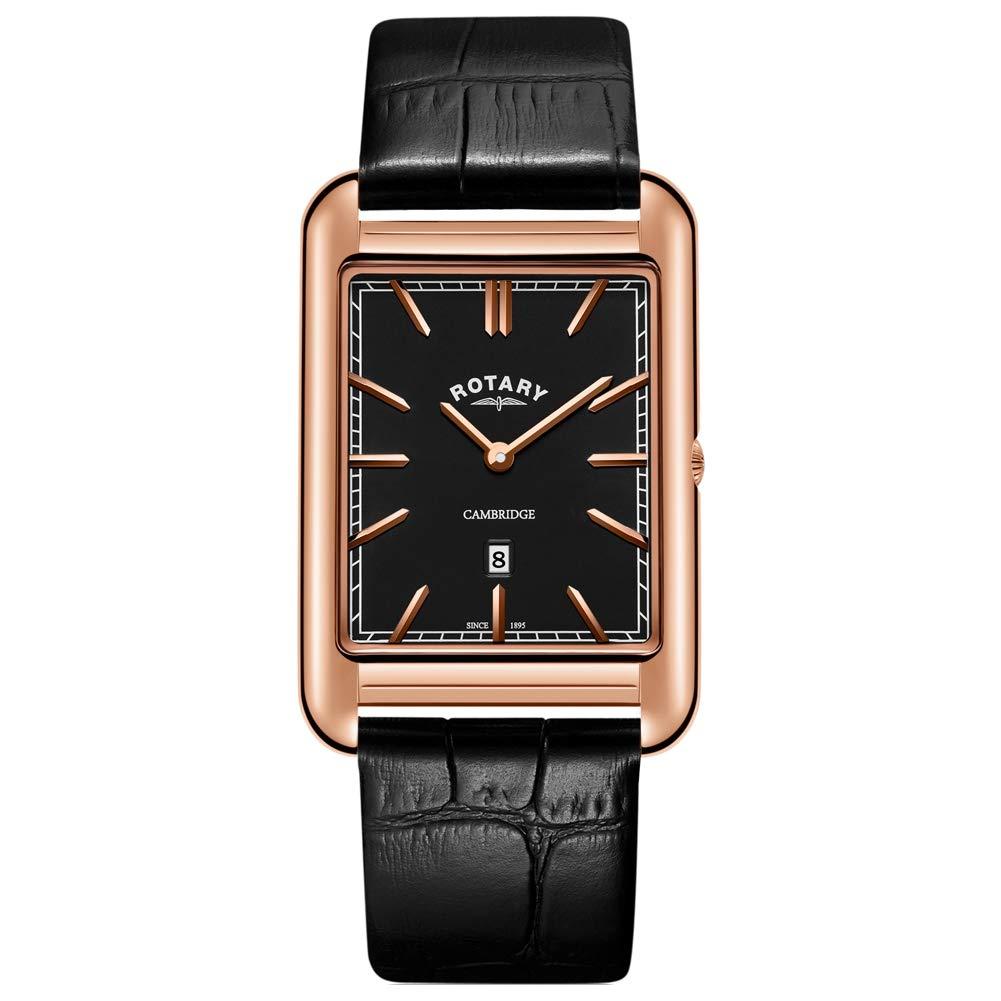 ROTARY CAMBRIDGE ロータリー ケンブリッジ ローズゴールド バーインデックス GS05284/04 クオーツ腕時計 送料無料 正規輸入品