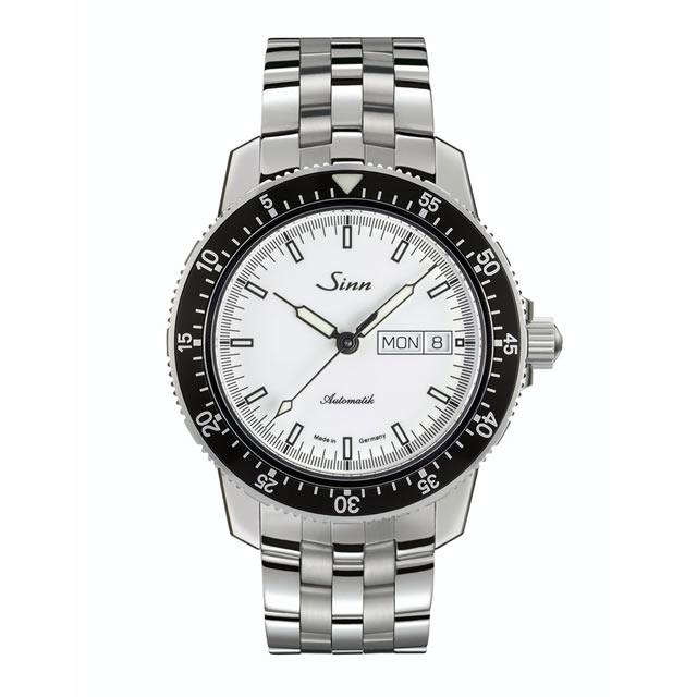 ジン 腕時計 SINN 104.ST.SA.IW.M 5連ステンレススチールブレスレット仕様 分割払いもOKです優美堂はSinnのOfficial Agent (正規販売店)です。