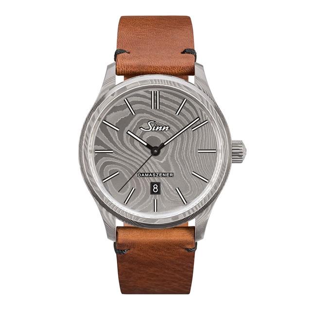 ご予約承り中【 日本限定100本 新作 2019年10月中旬以降発売 】 ジン 腕時計 SINN 1800.DAMASZENER 分割払いもOKです。優美堂はSinnのOfficial Agent (正規販売店)です