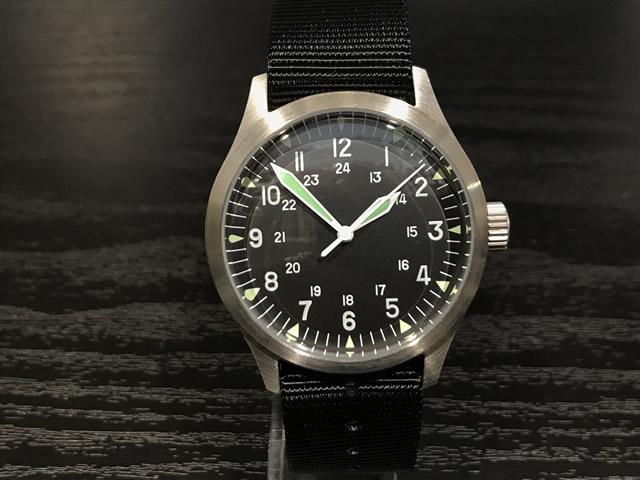 MWC ミリタリー ウォッチ カンパニー 38mm メンズ 腕時計 GG-W-113/100 自動巻き式優美堂はMWC腕時計の正規販売店です