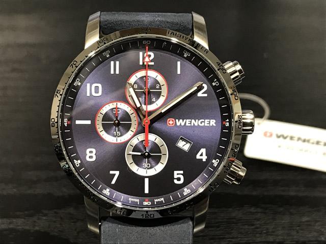 WENGER (ウェンガー) 腕時計 Attitude Chrono 01.1543.109e優美堂のウェンガーは安心のメーカー保証3年付き日本正規商品です。