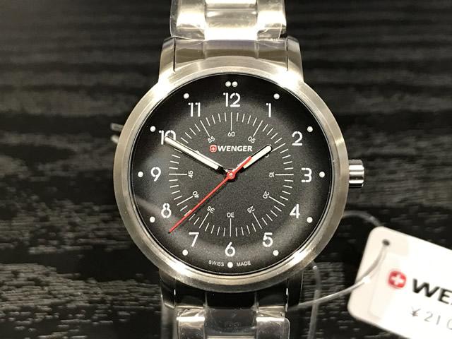 WENGER (ウェンガー) 腕時計 Avenue (レディース) アベニュー ブラック 文字盤 01.1621.114e優美堂のウェンガーは安心のメーカー保証3年付き日本正規商品です。