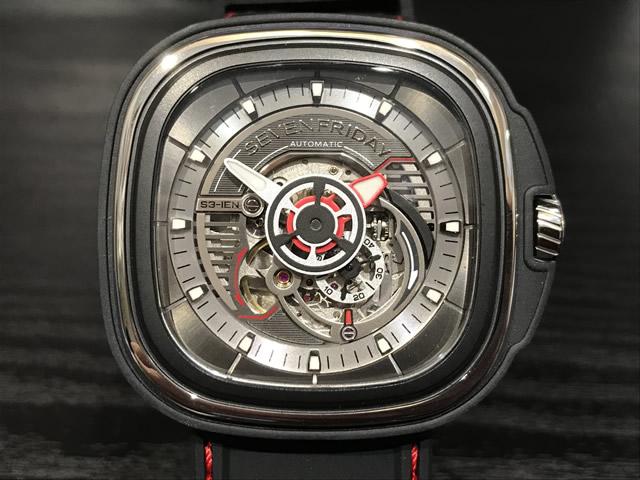 SEVENFRIDAY セブンフライデー 腕時計 ENGINE 正規輸入商品 Ref.S3/01 セブンフライデーはメーカー保証2年付の正規代理店商品になります。