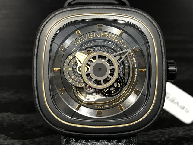 SEVENFRIDAY セブンフライデー 腕時計 REVOLUTION 正規輸入商品 Ref.P2B/02 セブンフライデーはメーカー保証2年付の正規代理店商品になります。