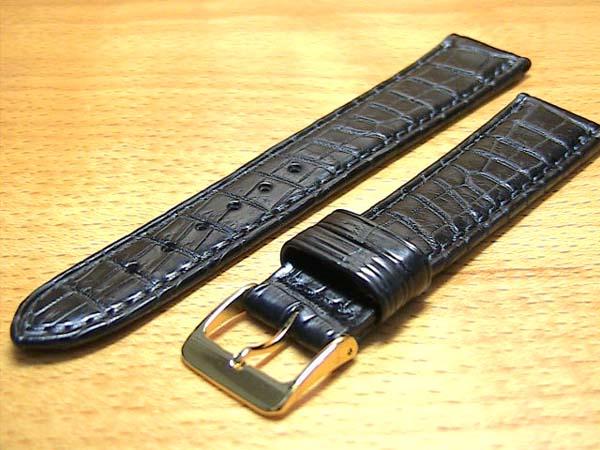 18mm時計バンド(腕時計)ベルト18ミリ クロコダイル(ワニ)時計バンド 時計ベルト バネ棒 サービス 18mm 黒 腕時計用 時計ベルト 時計用バンド 525円で販売していますバネ棒をサービスでお付けします。