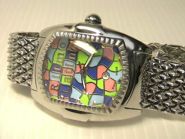 Ritmo Latino リトモラティーノ 腕時計 メンズ クォーツ Q3ML99SB 42mmx45mm 文字盤カラー マルチカラー 日本全国=北は北海道、南は沖縄まで送料0円 送料無料でお届けけします