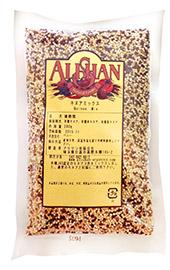 奇跡の穀物 無農薬キヌアミックス 現品 無農薬 無添加 業務用 1kg オリジナル 白 黒のキヌアをミックス 赤