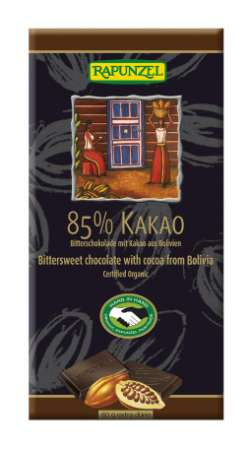 No worry of radioactive imports food IMO (Switzerland organic certification organization) Certified dark chocolate 80 g