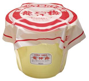 放射能検査済食品龍神梅8kg塩分約18%