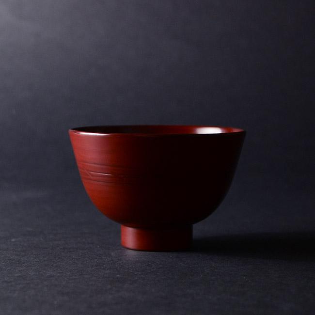 漆器 小椀(赤) 作家「角好司」