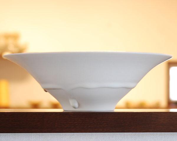 白磁鉢 作家「竹内紘三」