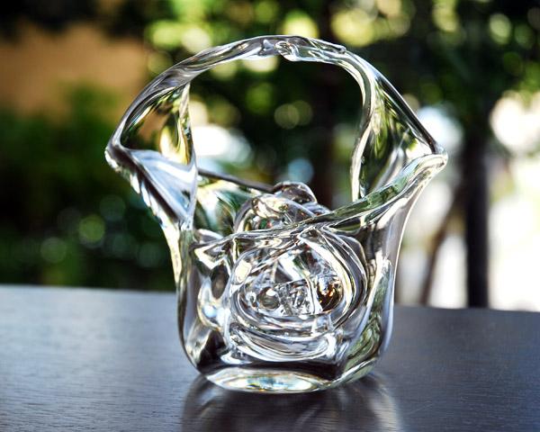 Glass vases flower dance artists 'kokihara 1'
