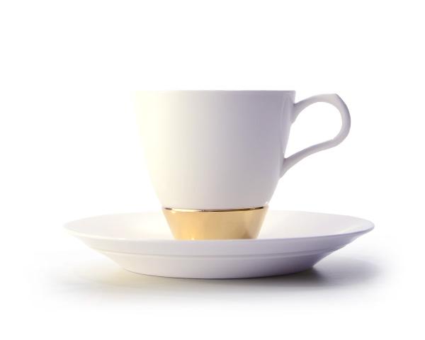 和食器 Layer.series Cup & Saucer GOLD   作家「田中雅文」
