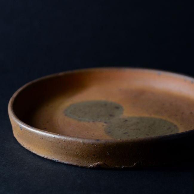 和食器 南蛮七寸盤no.1 作家「川淵直樹」