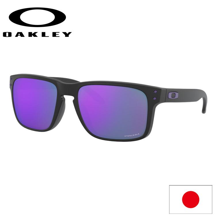 日本正規品 オークリー (OAKLEY) サングラス ホルブルック HOLBROOK OO9244-4756 【Matte Black】【Prizm Violet】【ASIA FIT】【アジアフィット】