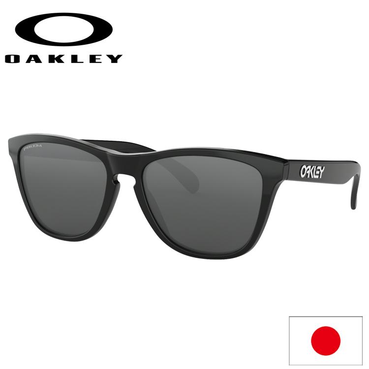 日本正規品 オークリー (OAKLEY) サングラス フロッグスキン FROGSKINS OO9245-6254 【Polished Black】【Prizm Black】【Asia FIT】【アジアンフィット】