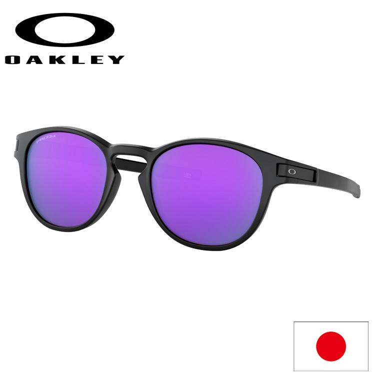 日本正規品 オークリー (OAKLEY) サングラス ラッチ LATCH OO9349-3353 【Matte Black】【Prizm Violet】【Asia FIT】【アジアンフィット】