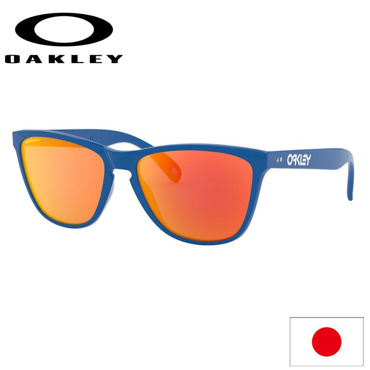 日本正規品 オークリー (OAKLEY) サングラス フロッグスキン FROGSKINS 35th Anniversary OO9444F-0457 【Primary Blue】【Prizm Ruby】【Asia FIT】【アジアンフィット】